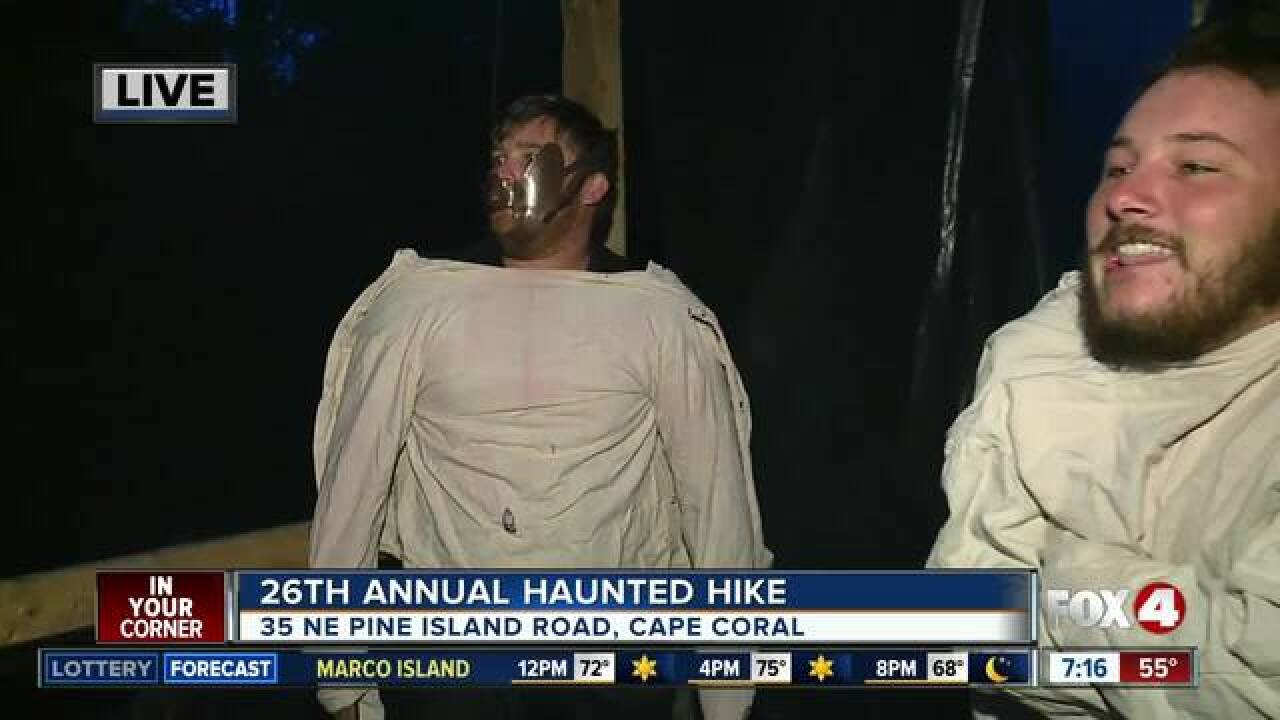 26th annual Haunted Hike in Cape Coral