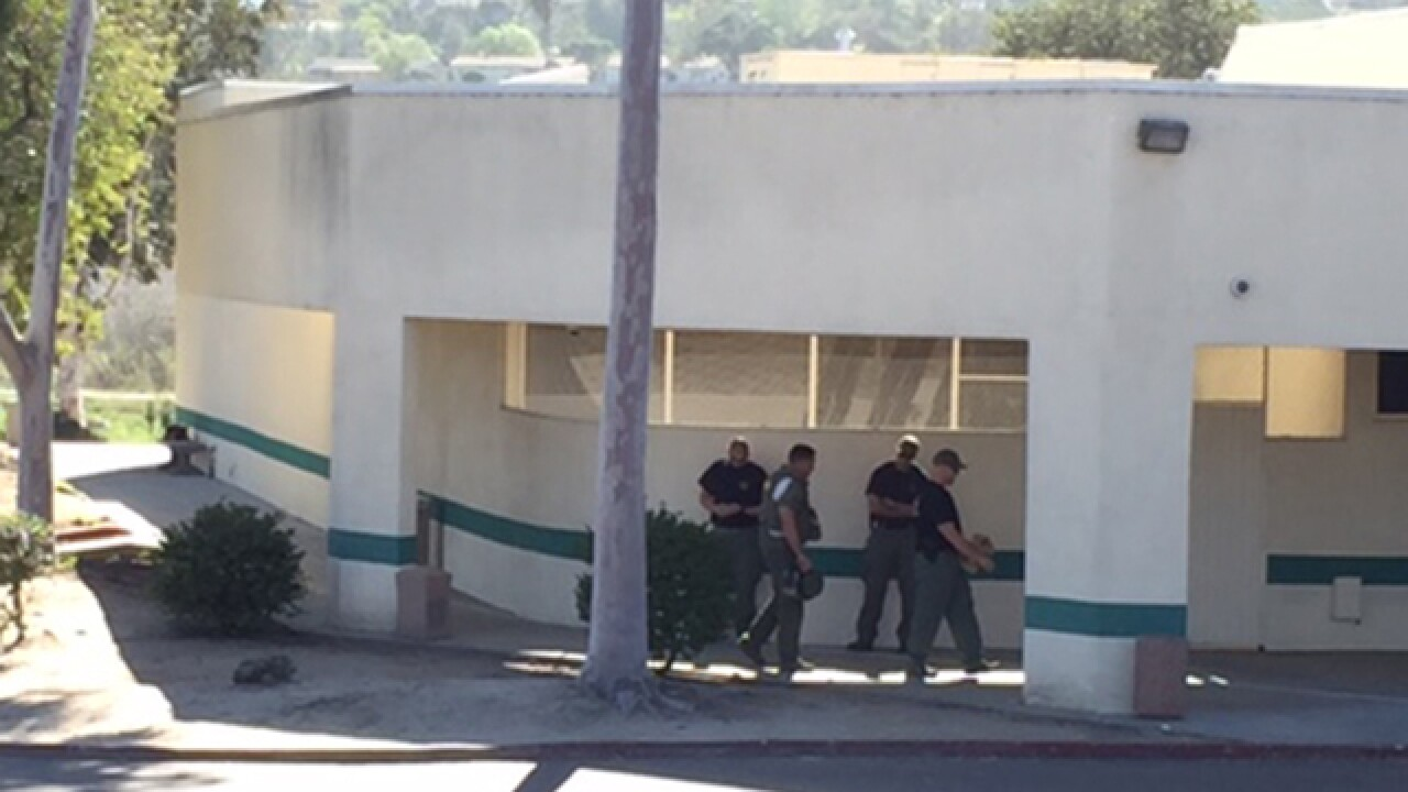 Oceanside DMV evacuated, bomb squad called in