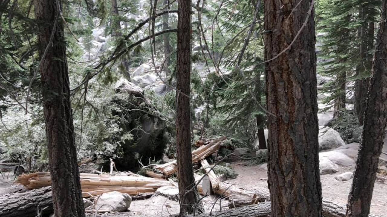 Whitney Portal campgrounds closed due to rockslides