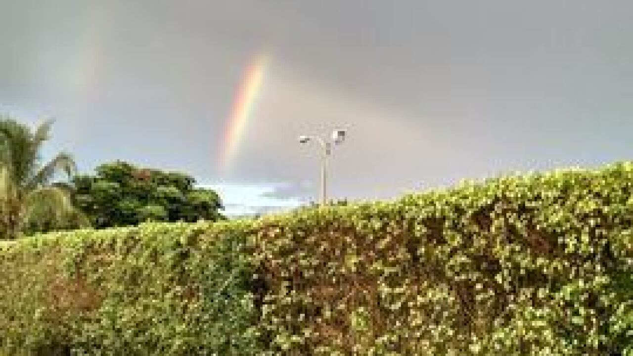 PHOTOS: Rainbow after the storm