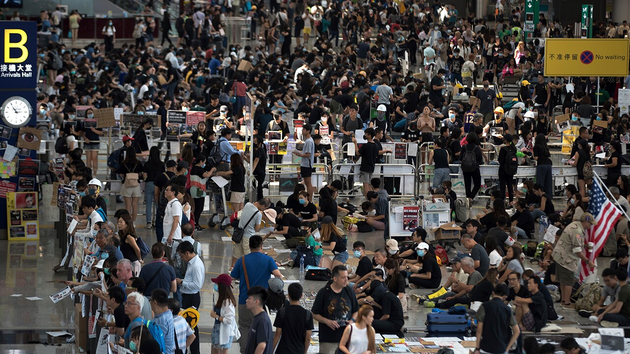 Hong Kong Tuesday protest
