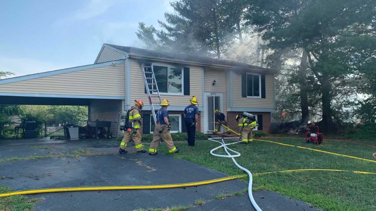 Henrico home 'seriously damaged' by fire; family of 5 displaced