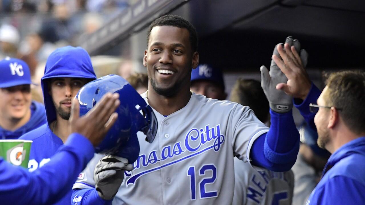 Kansas City Royals v New York Yankees Jorge Soler