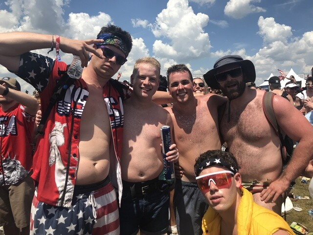 INDY 500 PICS: The craziness that is the Snake Pit