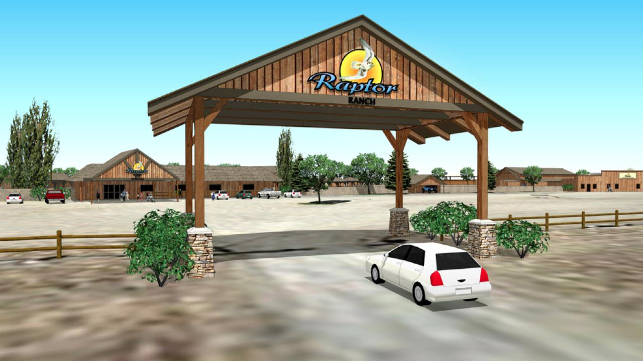 Raptor Ranch rendering 3