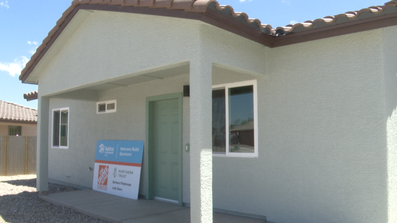 Habitat for Humanity Tucson home