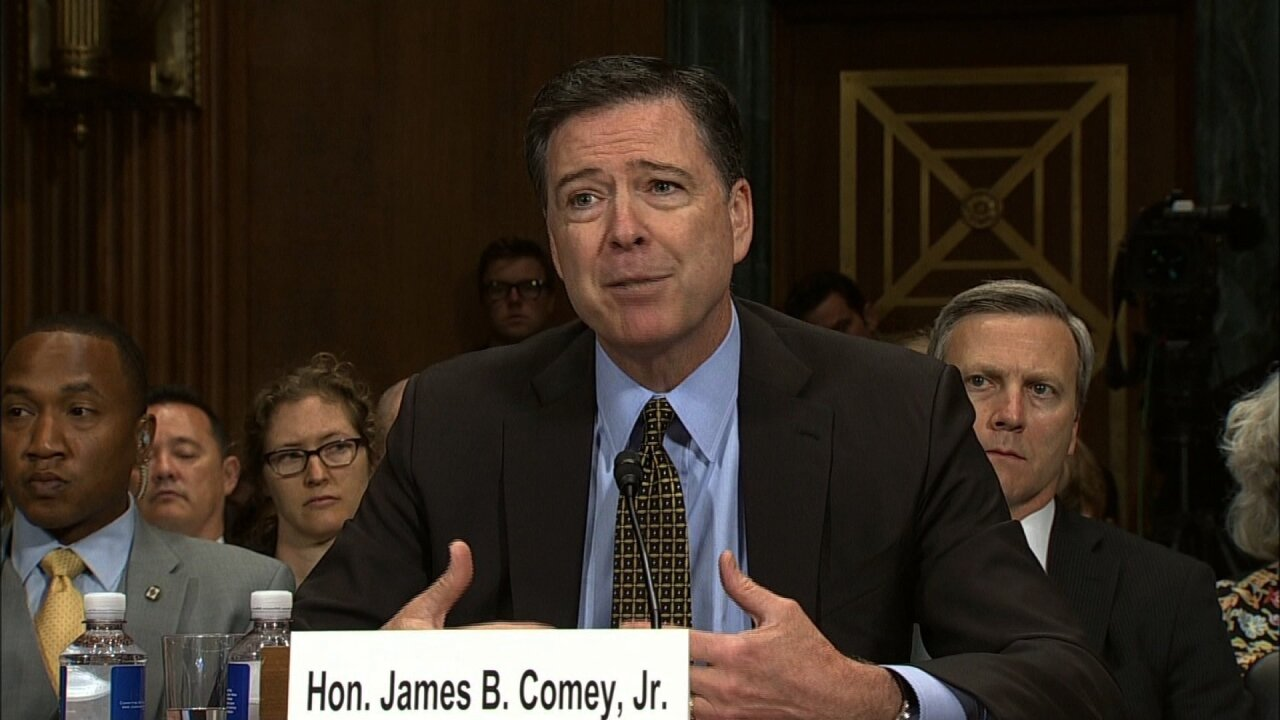 Watch Former FBI Dir. Comey testifies about talks with Pres. Trump before Congress