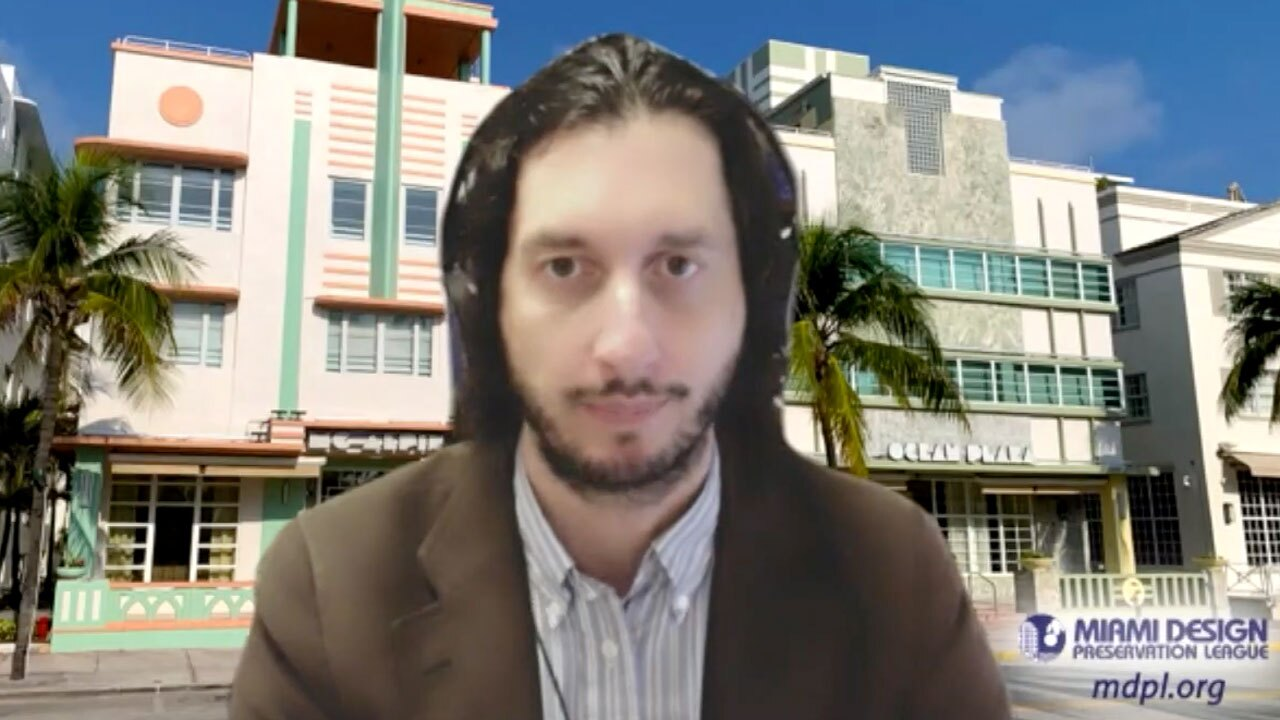 Daniel Ciraldo, the executive director of the Miami Design Preservation League.