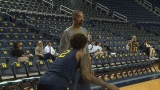Juwan Howard will have an immediate chance to put his stamp on the Michigan program