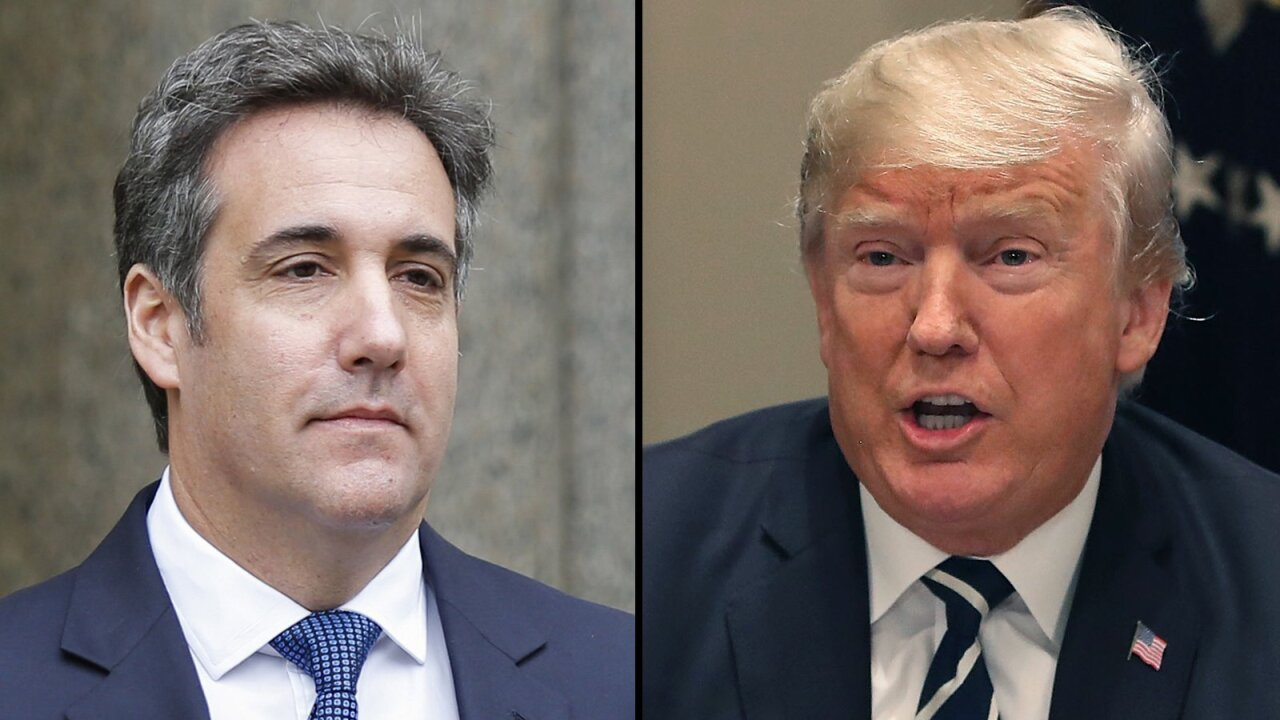 Trump alleges Cohen asked him 'directly' for a pardon