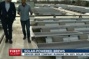 Denver brewery uses sun to power entire facility
