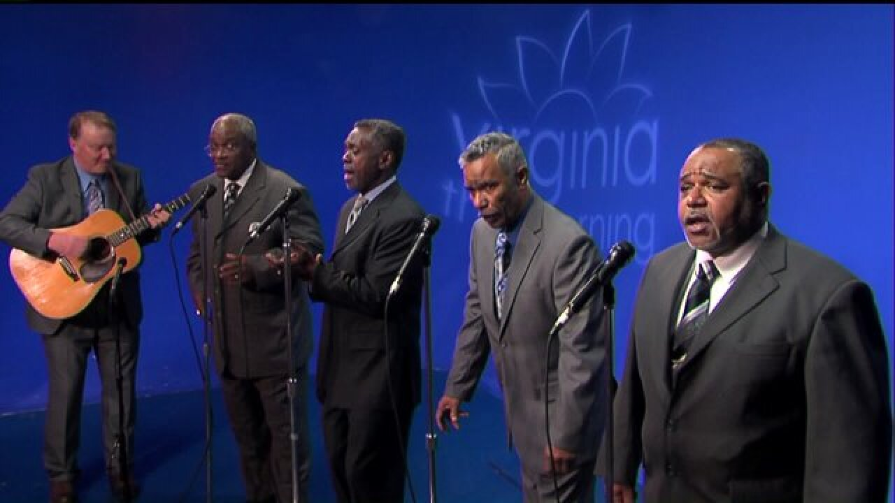 Enjoy two soulful performances by The Sensational Groupinaires