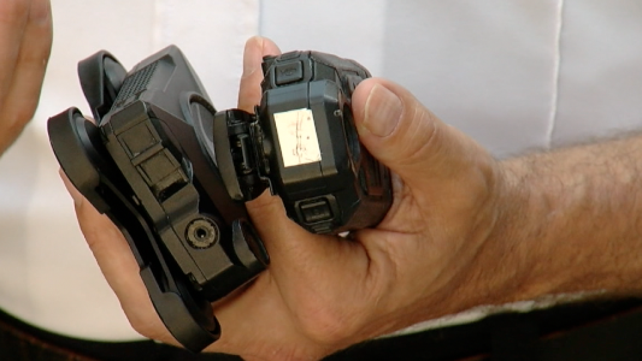 body cameras lockport