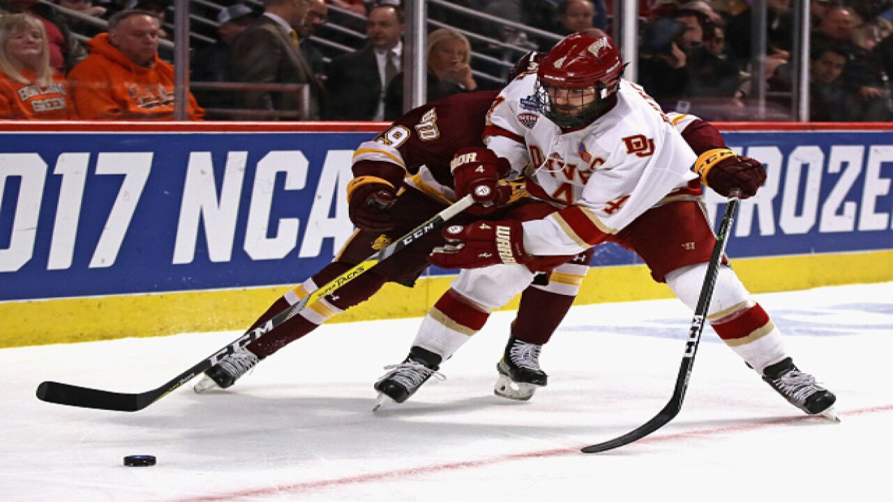 Report  Hobey Baker Award winner Will Butcher expected to visit with Sabres bde88eddf