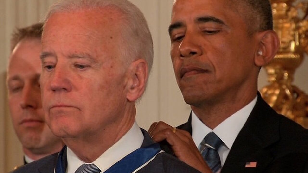 Obama surprises misty-eyed Biden with Presidential Medal of Freedom
