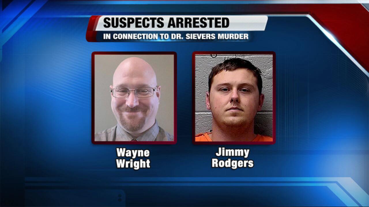 Mark Sievers arrested in wife's murder