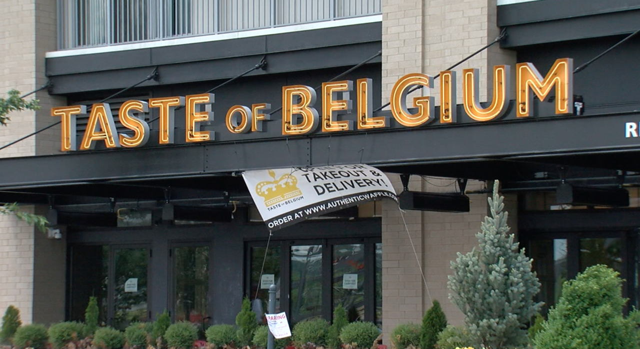 Taste of Belgium restaurant at The Banks.