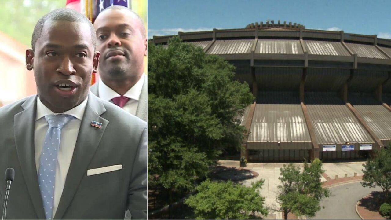 Mayor calls plan to build new Richmond arena, revamp Navy Hill a 'gamechanger'