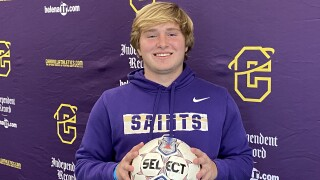 Henry Lauerman signs to play soccer for Carroll College