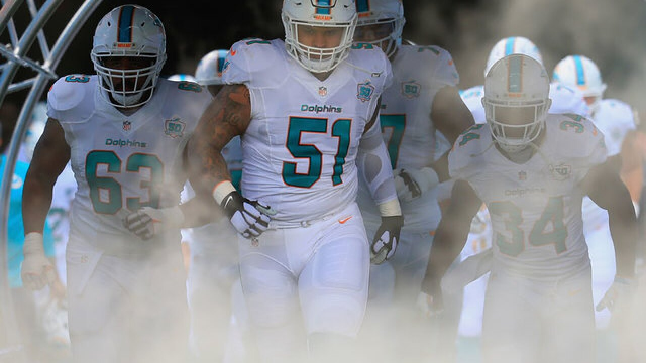 Mike Pouncey released by Dolphins and replaced by Kilgore