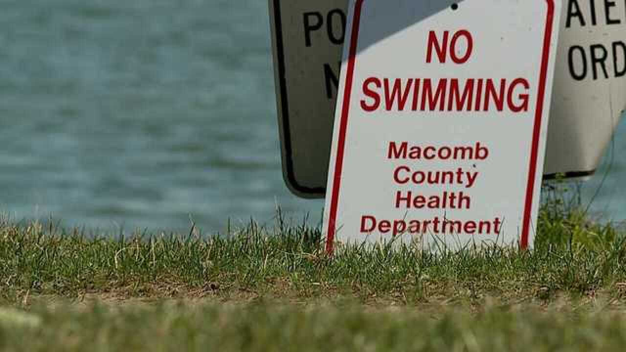 Beach closures stretch weeks in metro Detroit