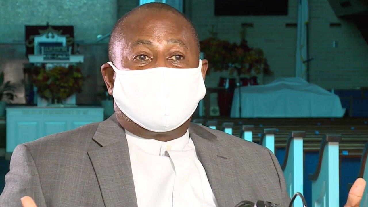 Jacksonville Pastor R.L. Gundy