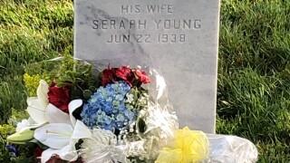 Seraph Young Ford gravestone