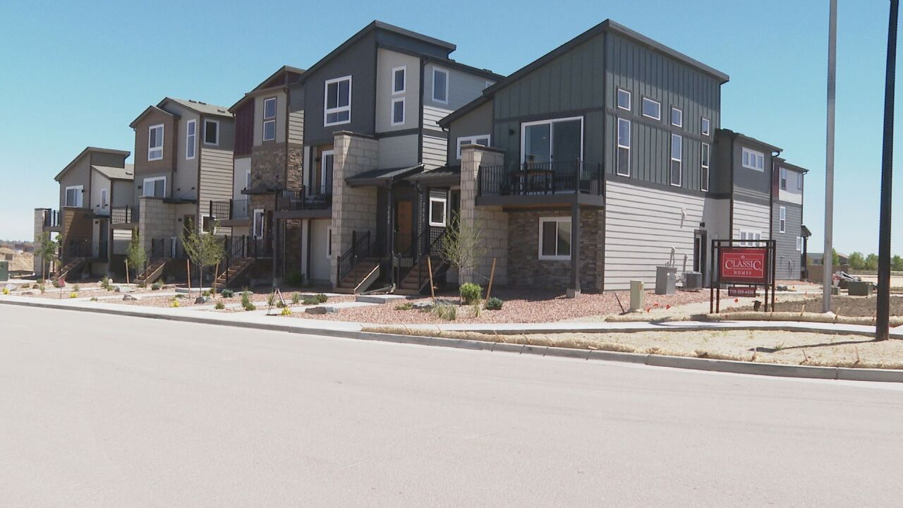'Detached townhome' concept gaining traction in Colorado Springs, other growing markets