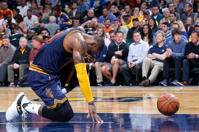 PHOTOS: Cavs beat Pacers 106-102, heading to Eastern Conference Semifinals