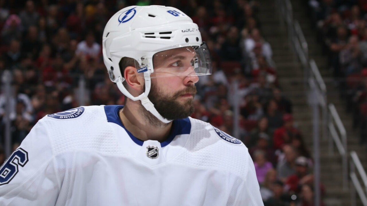 Nikita Kucherov October 27 2018