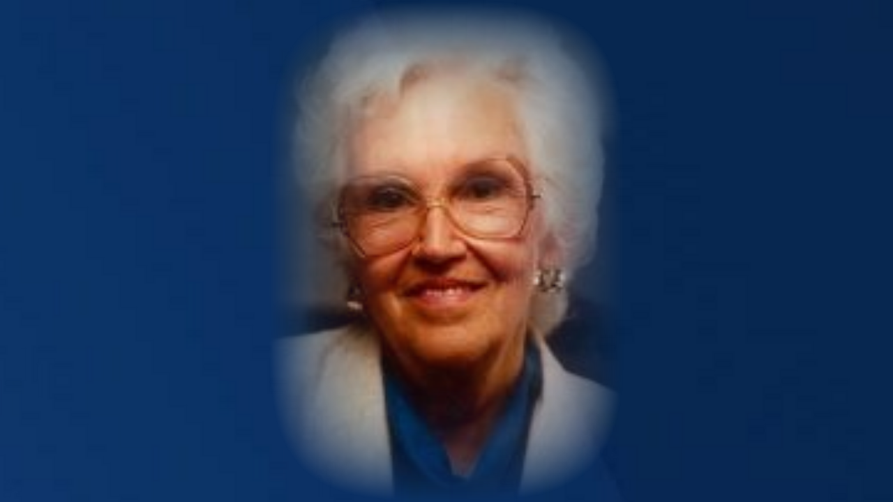 Avis Maxine (Egge) McAlister, age 99, died on October 9, 2020