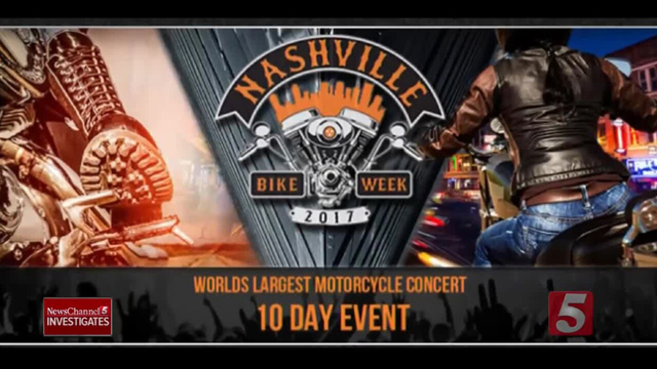More Questions Raised About Nashville Bike Week