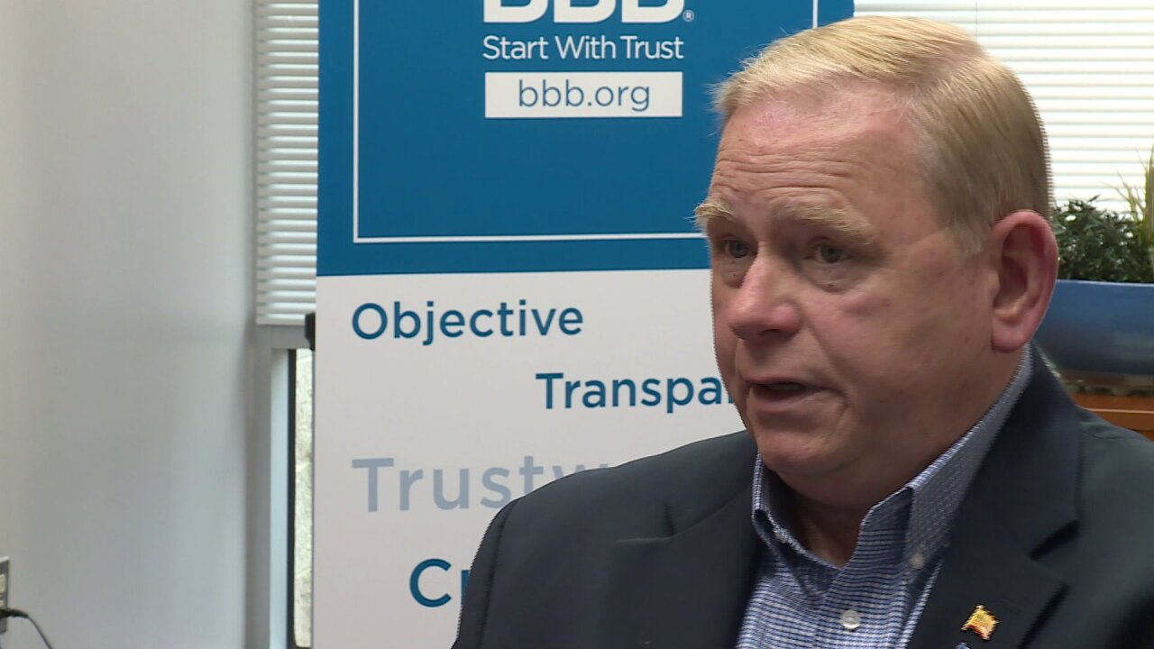 Better Business Bureau serving Central Virginia President and CEO Barry Moore
