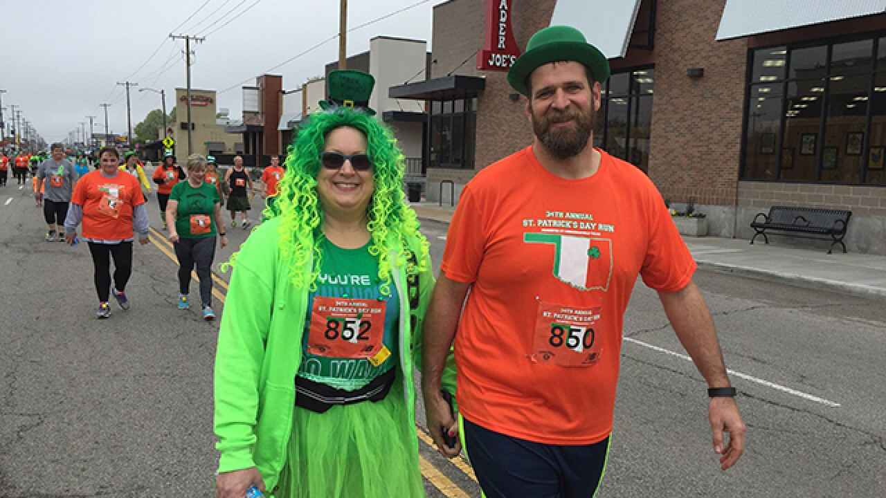 Thousands of runners attend St. Patrick's Day 5k