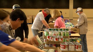 Massive food bank distribution planned for Friday