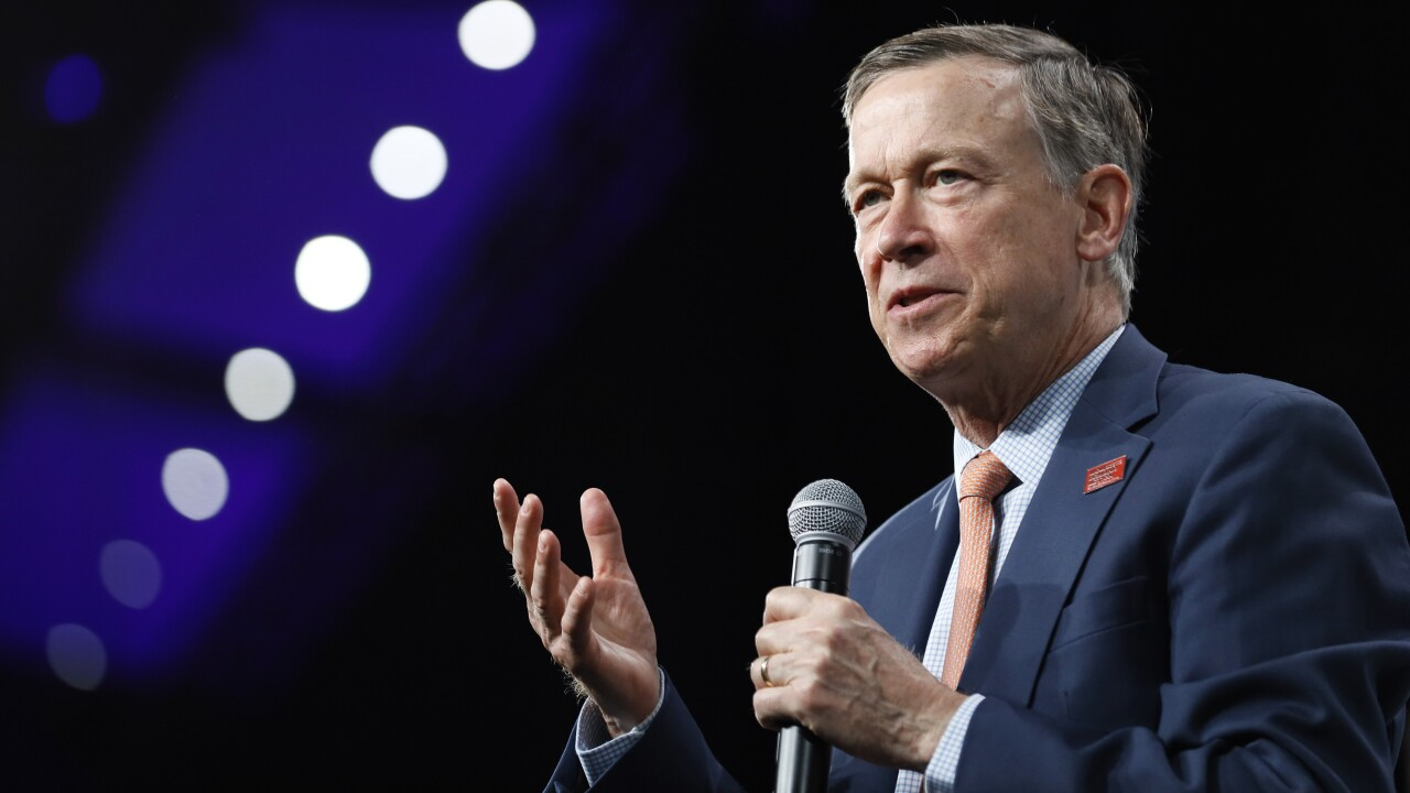 John Hickenlooper defeats Andrew Romanoff in Democratic Senate primary, will face Gardner