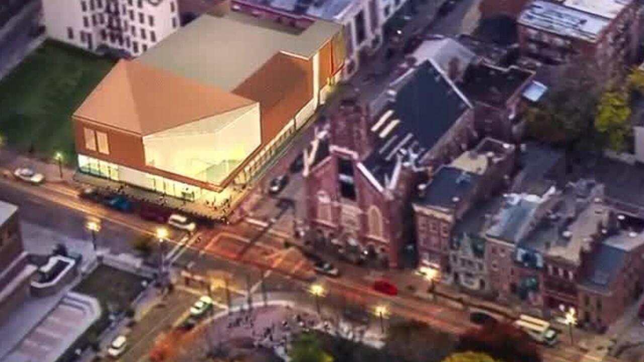 Shakespeare Co.'s new theater nears completion