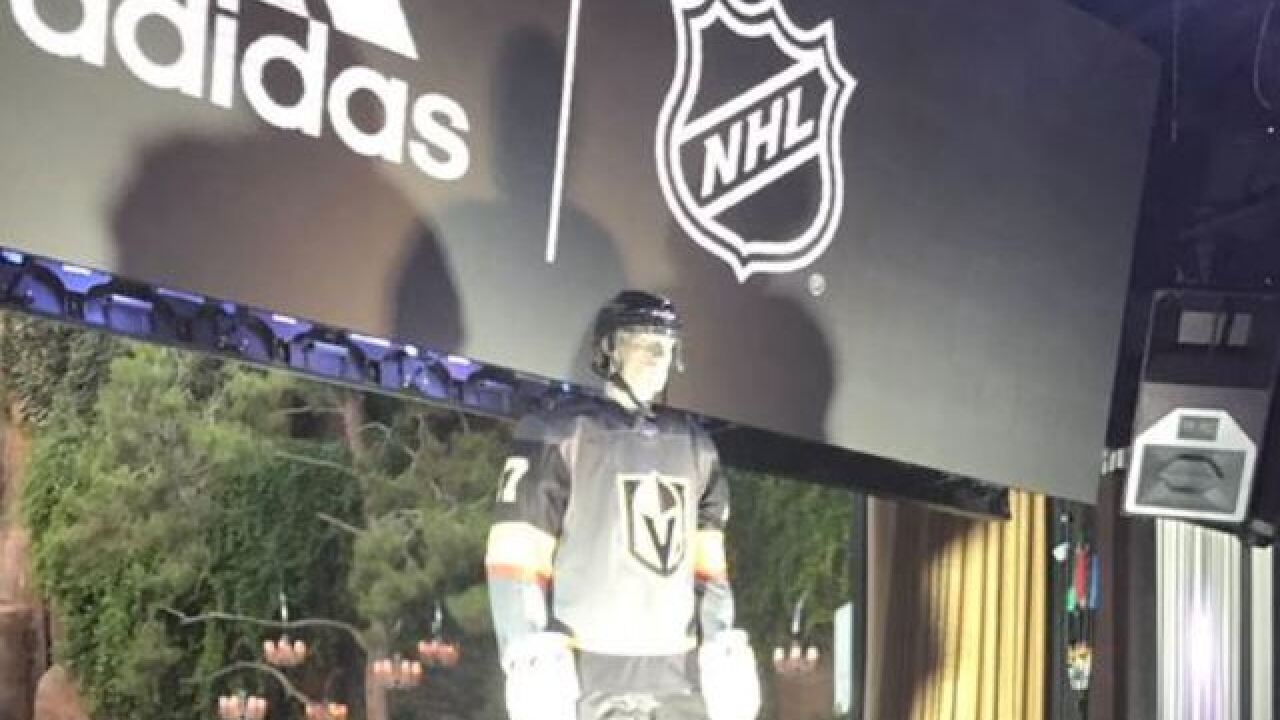 Vegas Golden Knights unveiling jersey tonight