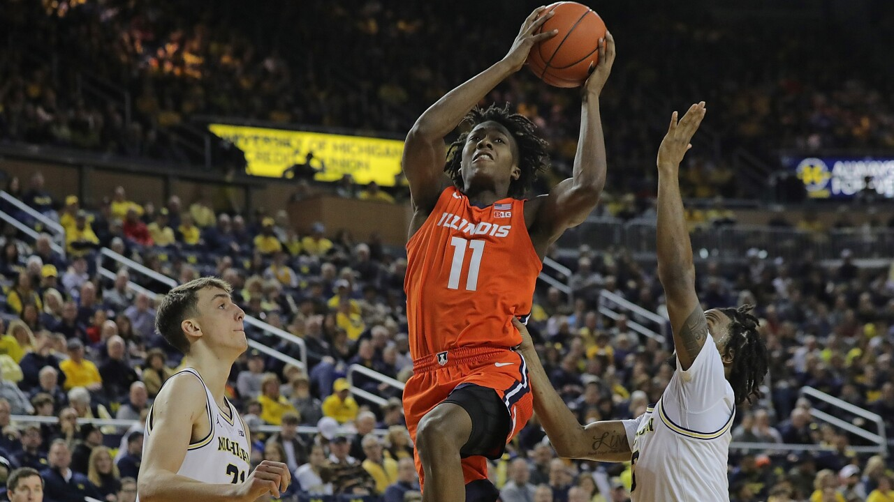 Ayo_Dosunmu_Illinois v Michigan