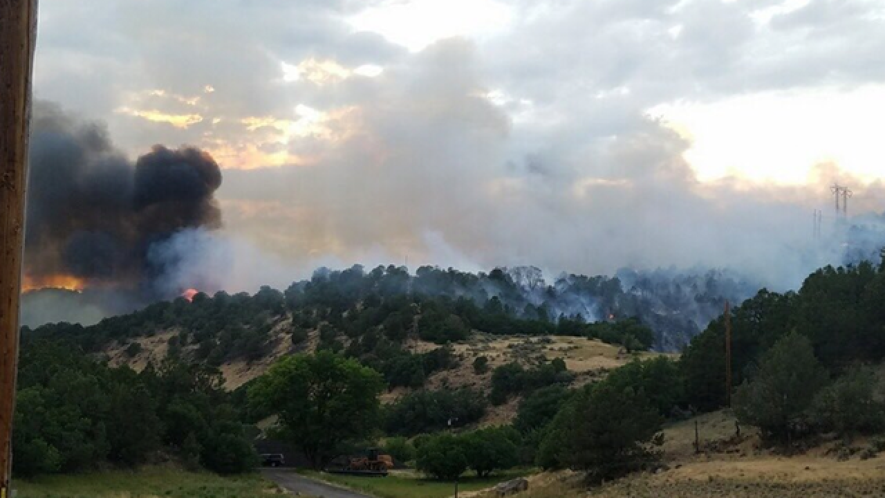 Wildfire burning near Basalt prompts evacuations