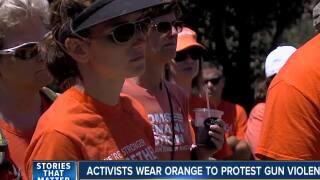 San Diegans participate in Wear Orange Weekend