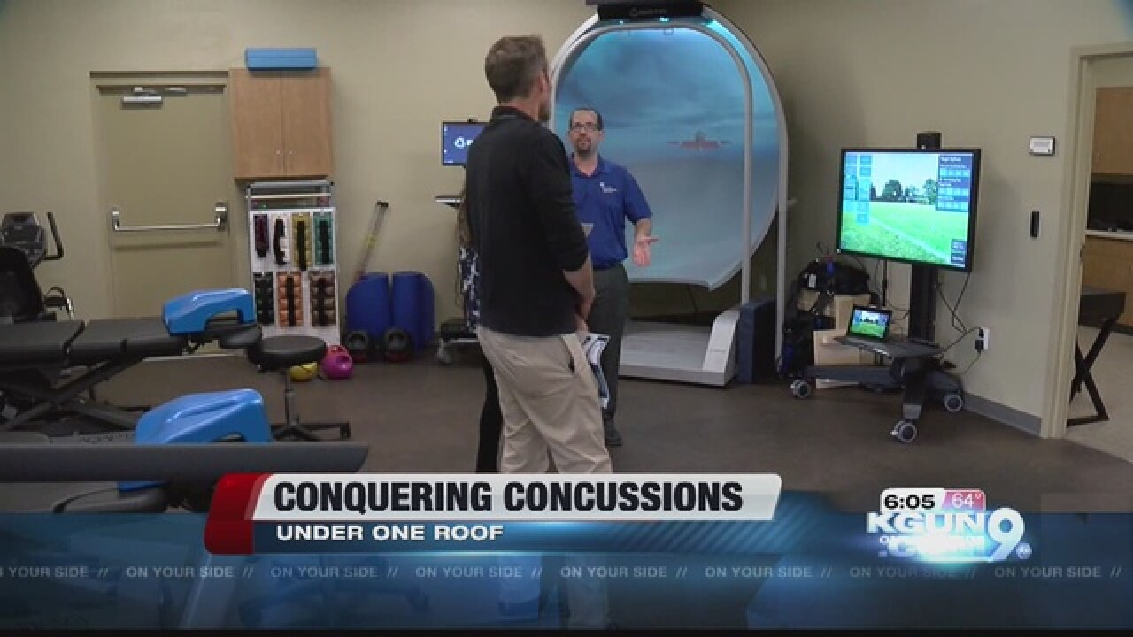 New way to conquer concussions in Tucson