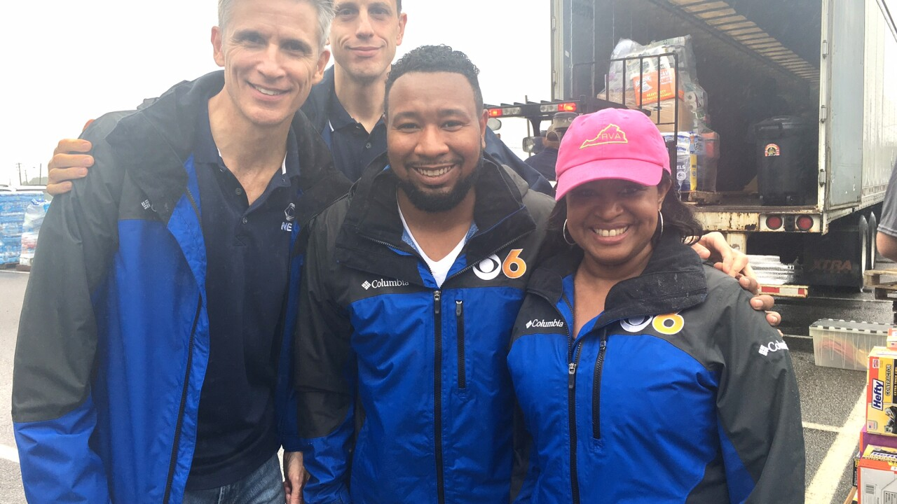 Thank you! Richmond fills 3 semi trailers with Hurricane Harveydonations