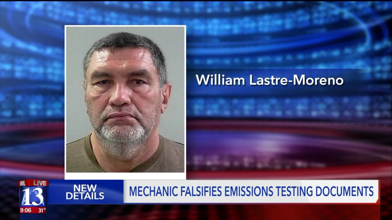 Falsified emissions testing documents lead to criminal charges pertaining to Utah Air ConservationAct