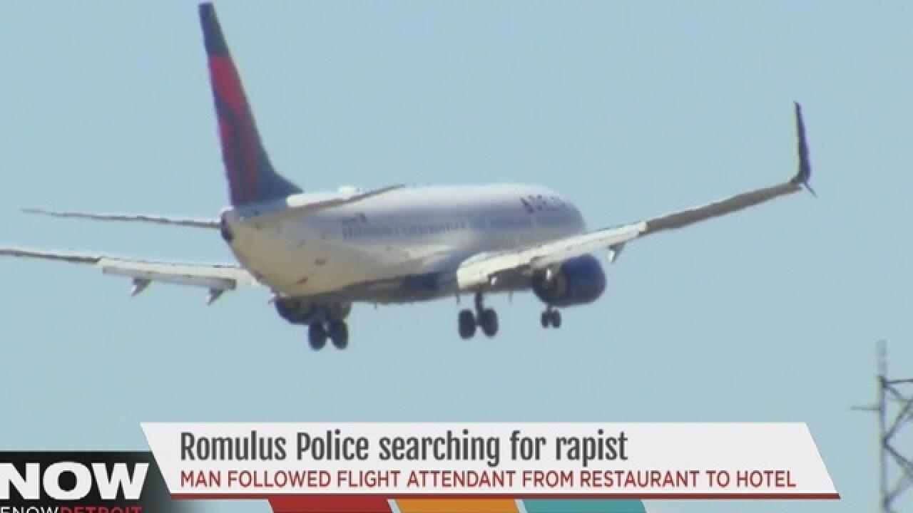 Flight attendant sexually assaulted near Metro