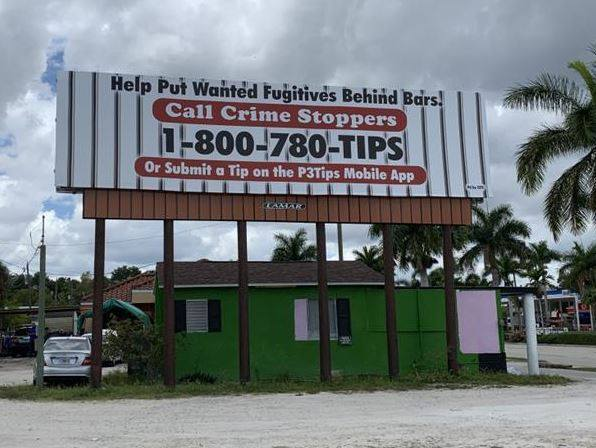 Crime Stoppers hopes billboards in Lee County generate more tips