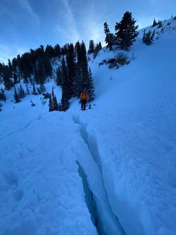 Photos: 18-year-old snowmobiler dies after being caught in avalanche