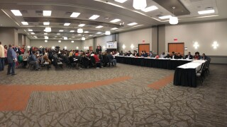 Sharonville Convention Center hosts the annual Greater Miami Conference football ceremony