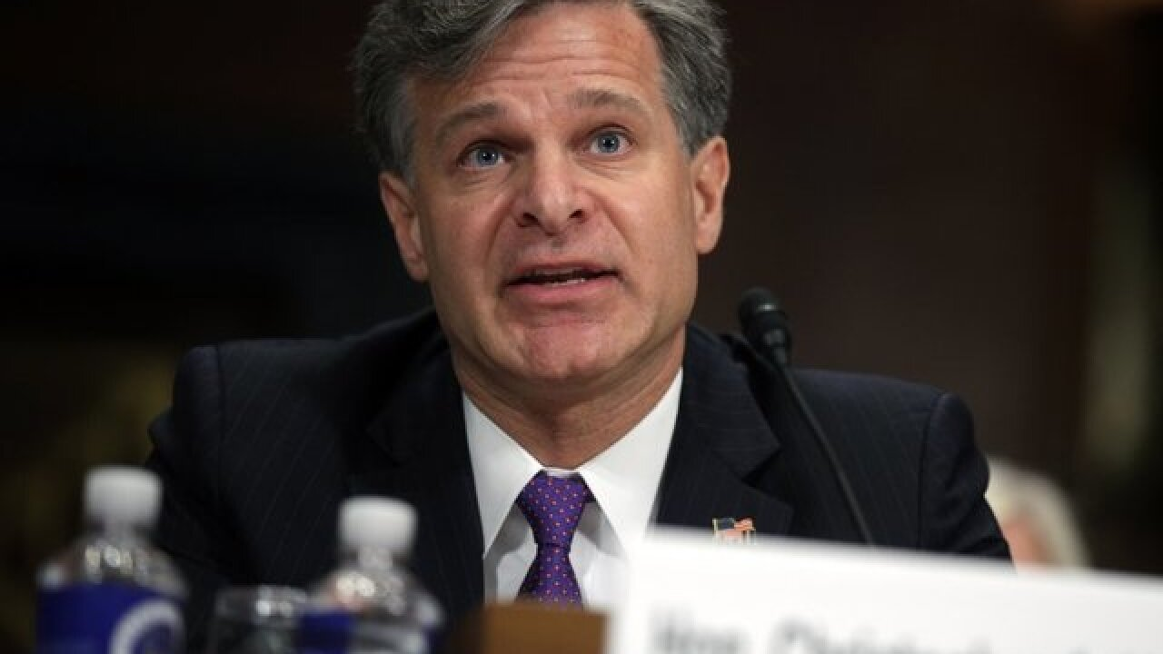 At security forum in Aspen, FBI Director Wray says Russia continues to sow discord in US
