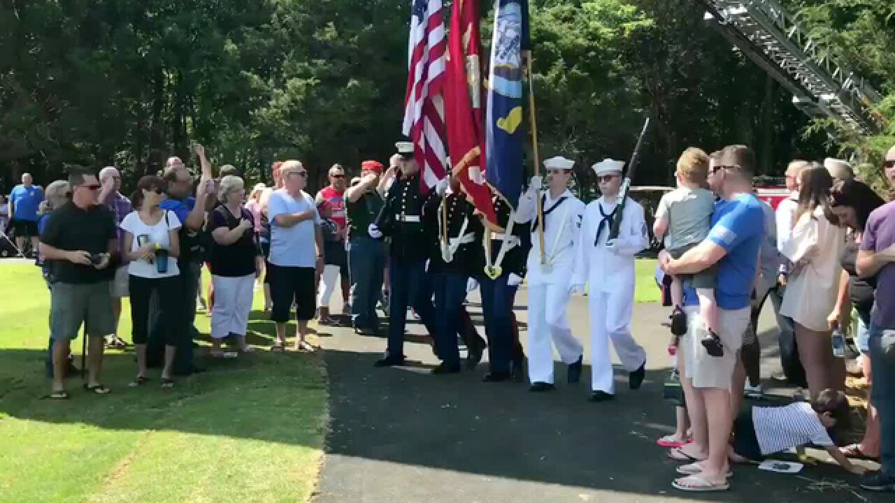 Capt. Jeff Kuss USMC Memorial Open To Public